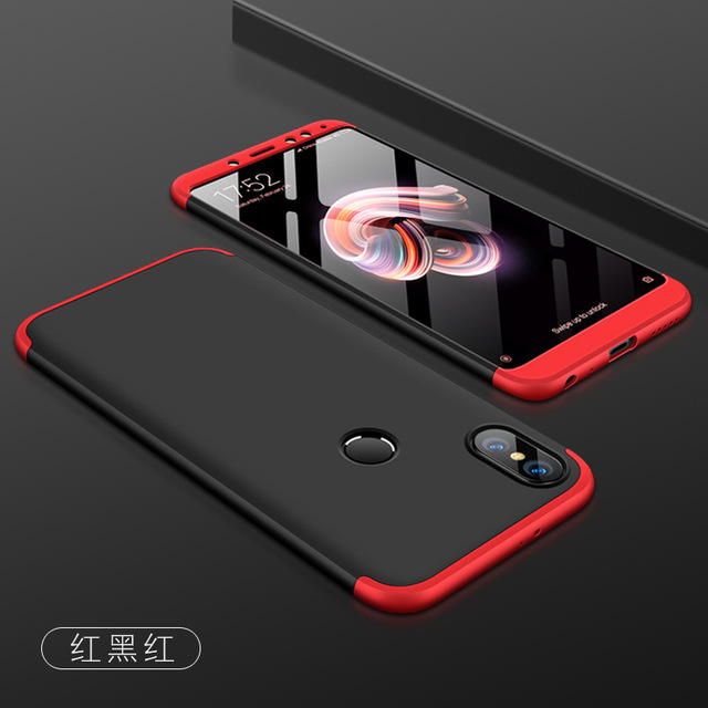 online store c77f6 d6597 US $3.19 20% OFF For Xiaomi Redmi Note 5 Pro Case Luxury Hard Matte Coque  Armor Hybrid Protective back cover cases for xiaomi redmi note 5Pro-in ...