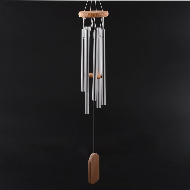 ORAF Antique Amazing Grace Deep Resonant 6 Tube Windchime Chapel Bells Wind Chimes  Door Wall Hanging