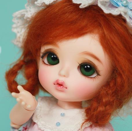 Vente flash! maquillage et yeux gratuits! top qualité bjd 1/8 Sophie blanche neige princesse bébé poupée mignon jouet chaud enfants
