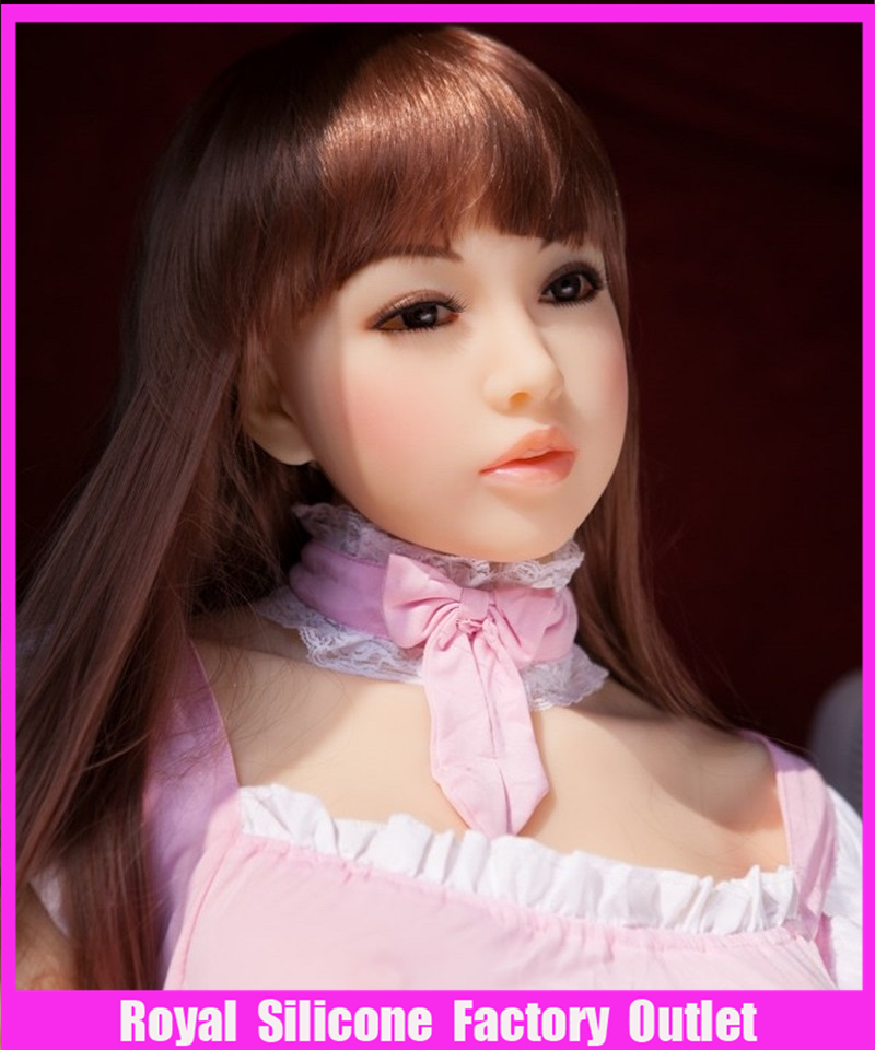 145cm Top quality full silicone love font b doll b font vagina realistic silicone font b