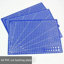 1 Pc A4 sewing cutting mats Double-sided Plate design engraving cutting board mat handmade hand tools 30 * 22cm 1 pc a4 grid lines cutting mat craft card fabric leather paper board 30 22cm