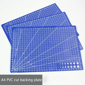 1 Pc A4 sewing cutting mats Double-sided Plate design engraving cutting board mat handmade hand tools 30 * 22cm a4 30 22cm sewing cutting mats plate design engraving cutting board mat handmade hand tools