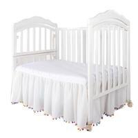 Юбка Детская кровать красочный мяч кулон романтический Принцесса Постельные принадлежности покрывало шифон комнаты Bedskirts