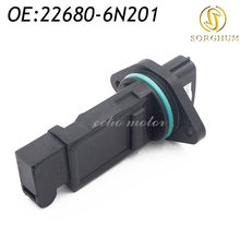 New 22680-6N201 Mass Air Flow Meter Sensor For 2002 03 Nissan Pathfinder Maxima Infiniti I35 226806N201(China)