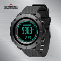 Men Sport Digital Watches NorthEdge Smart Watches LED Men Watch Digital Military Army Watches Altimeter Clock Men 50M Waterproof