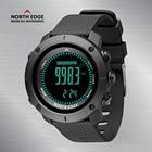 Men Sport Digital Watches NorthEdge Smart Watches LED Men Watch Digital Military Army Watches Altimeter Clock Men 50M Waterproof
