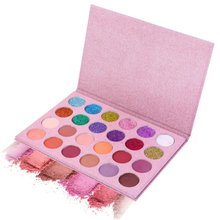 Natural Matte Shimmer Palette Luminous Long-lasting Eyeshadow Cosmetics 24 Colors In1