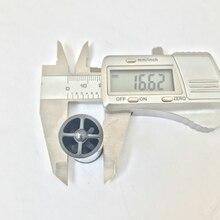 Запасные части турбины и втулки для USC-HS43TB OD 17 мм длина 33 мм Холла Датчик расхода воды турбины расходомер сенсор