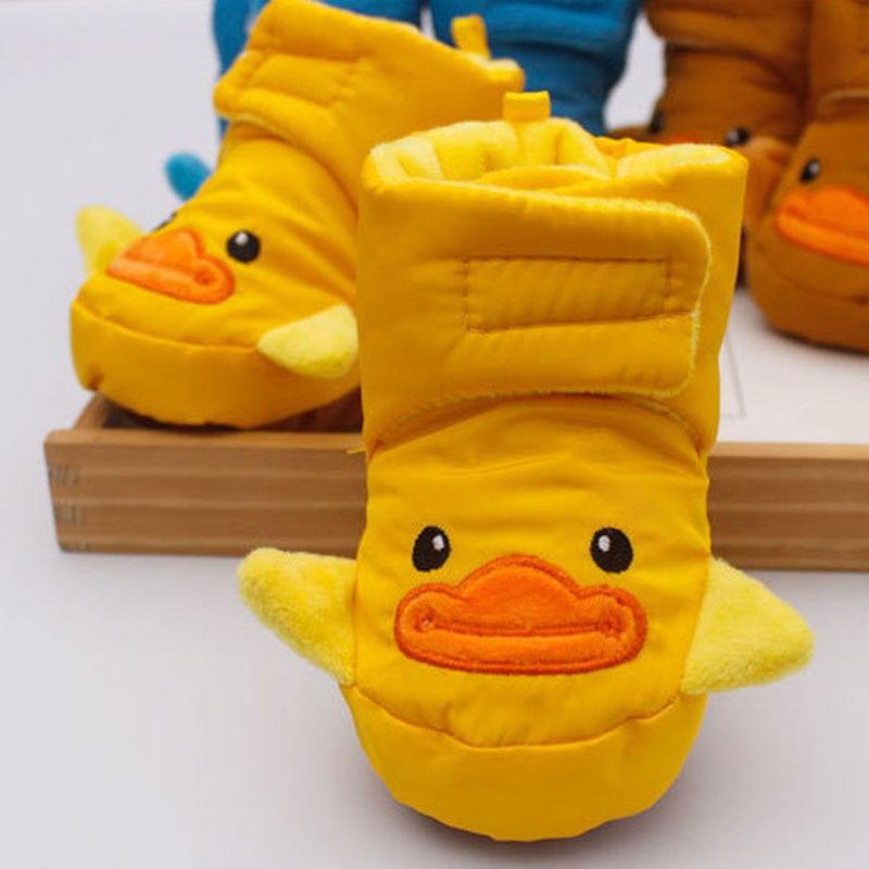 Baby Shoes Waterproof Anti-fall Cotton Warm Winter Cartoon Newborn Infant Bootie BM88
