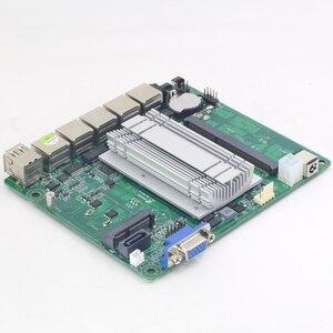 Image 5 - YCSD 미니 PC 인텔 셀러론 J1900 쿼드 코어 4 * 기가 비트 이더넷 LAN 미니 컴퓨터 셀러론 J1800 팬리스 PC Pfsense 방화벽 라우터