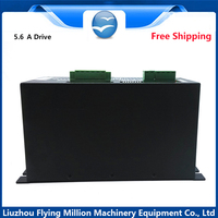 5.6A 3 phase Stepper Drive 3M2060H for CNC stepper motor with air fan power 200 V AC