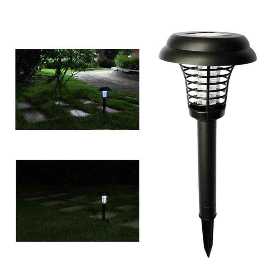 Комаров убийца на солнечных батареях Светодиодный свет комаров вредителей ошибка Zapper лампа для уничтожения насекомых сад газон Прямая доставка 18may27