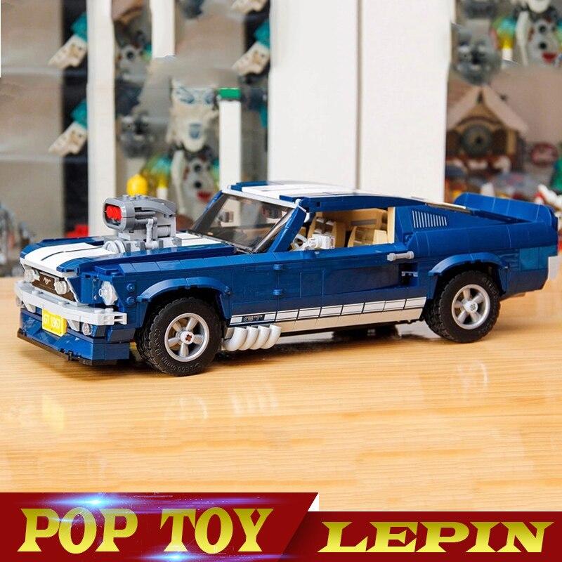 En Stock LEPIN 21047 1684 pièces créateur Expert Ford Mustang 1967 GT500 Compatible Legoing 10265 blocs de construction briques jouets cadeau