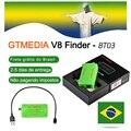 [Подлинный] Оригинальный GTmedia V8 Finder BT03 Finder DVB-S2 спутниковый finder лучше  чем satlink ws-6933 ws6906 upgrade freesat bt01