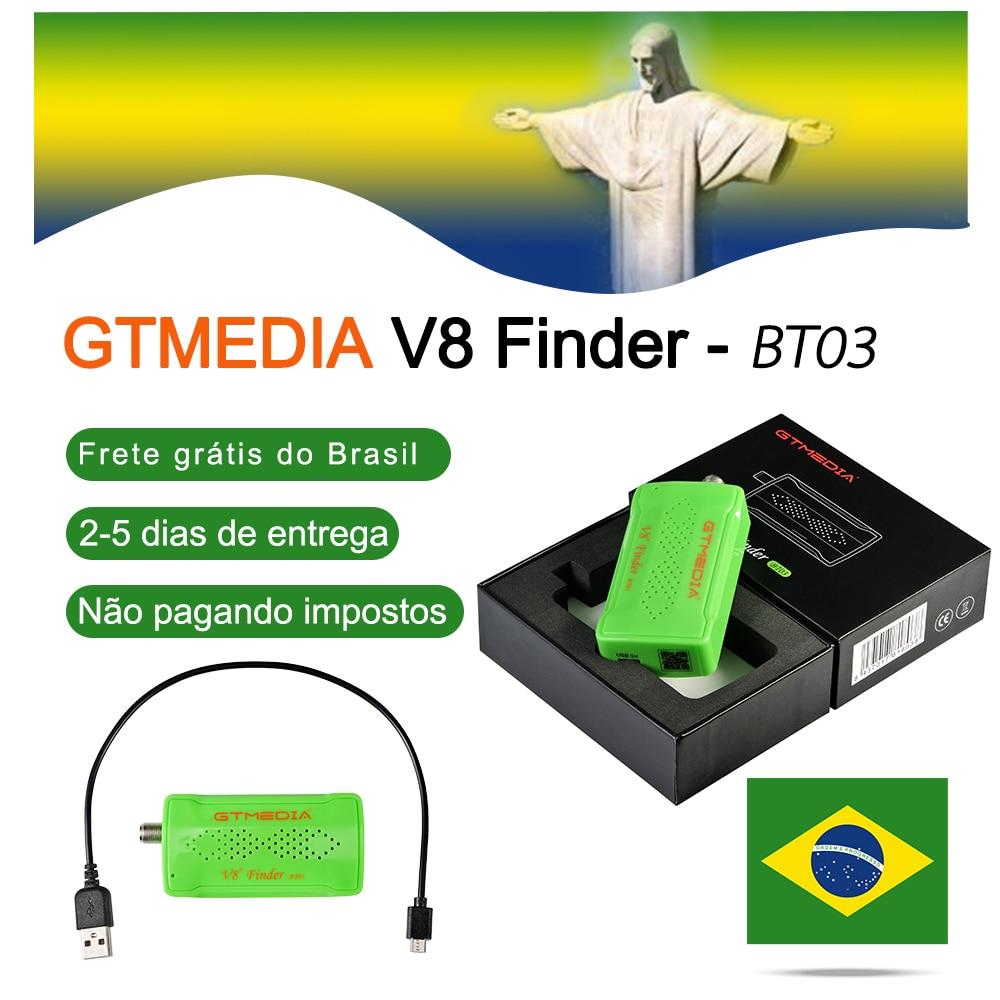 [Genuine] Original GTmedia V8 DVB-S2 BT03 Localizador Localizador localizador via satélite Melhor do que ws6906 satlink ws-6933 atualização freesat bt01