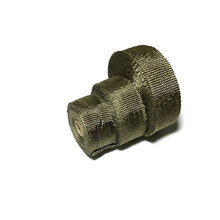 2inch x 50ft Motorcycle Exhaust Muffler Pipe Header Heat  Wrap Resistant Downpipe With 6 Pcs Cable Ties