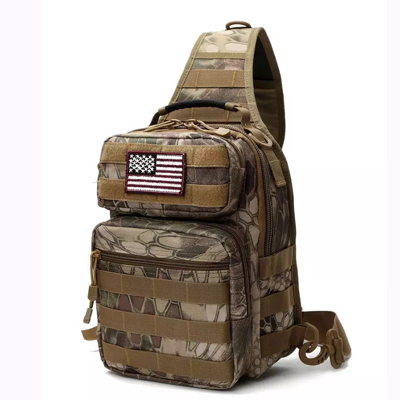 4152ed4299f7 Tactical Sling Bag Pack Military Rover Shoulder Sling Backpack Molle  Assault Range Bag Everyday Carry Diaper Bag Day Pack Small