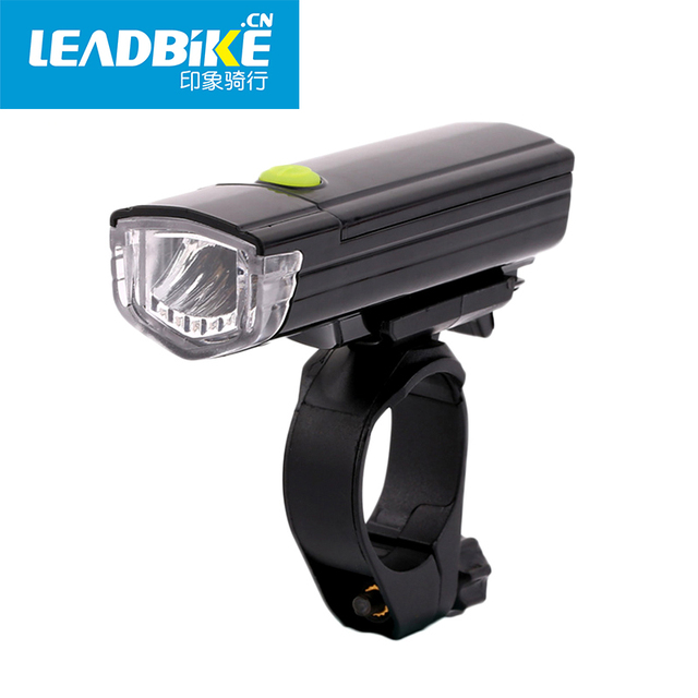 Leadbike Bicycle Night Front Light 3w Super Bright Led 200 Lumen