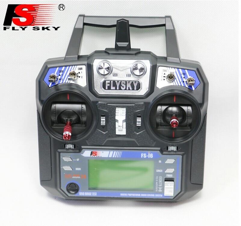 Original FLYSKY FS-i6 radio remote control i6 transmitter + iA6B receiver Bidirectional transmission for DIY FPV quadcopter niorfnio portable 0 6w fm transmitter mp3 broadcast radio transmitter for car meeting tour guide y4409b