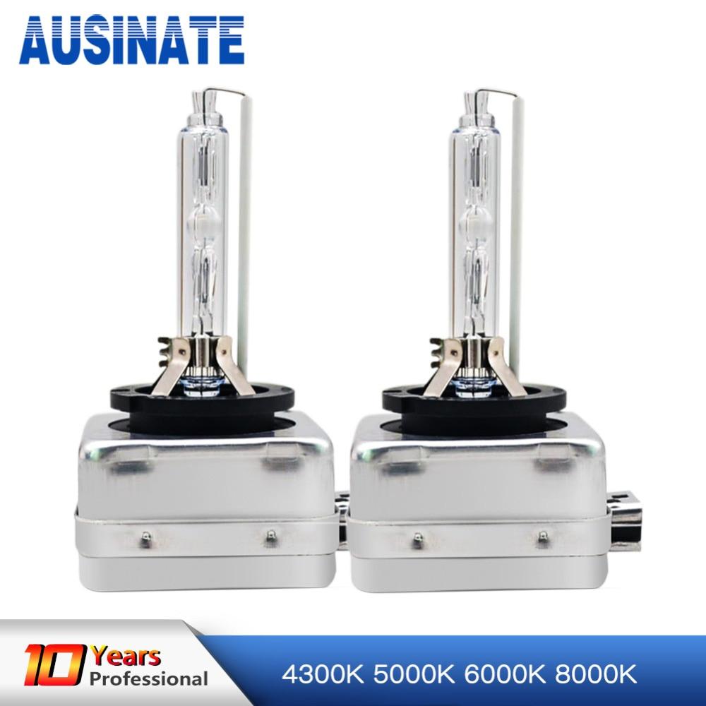 One Pair D1C D1S Xenon Bulb 4300K 5000K 6000K 8000K 35W Xenon Lamp For Car Auto HID Bulb Xenon D1S Car Light yy promation 35w d1 d1s d1c 6000k hid xenon light car headlight headlamp replacement bulb 4300k 5000k 8000k 10000k 12000k 30000k