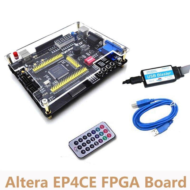 Altera Cyclone IV EP4CE FPGA Conseil de Développement NIOSII Core Carte Envoyer Infrarouge À Distance Contrôleur Downloader