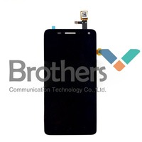 New Original Black Touch Screen Digitizer LCD Display Full Assembly For Lenovo S660 Free Shipping
