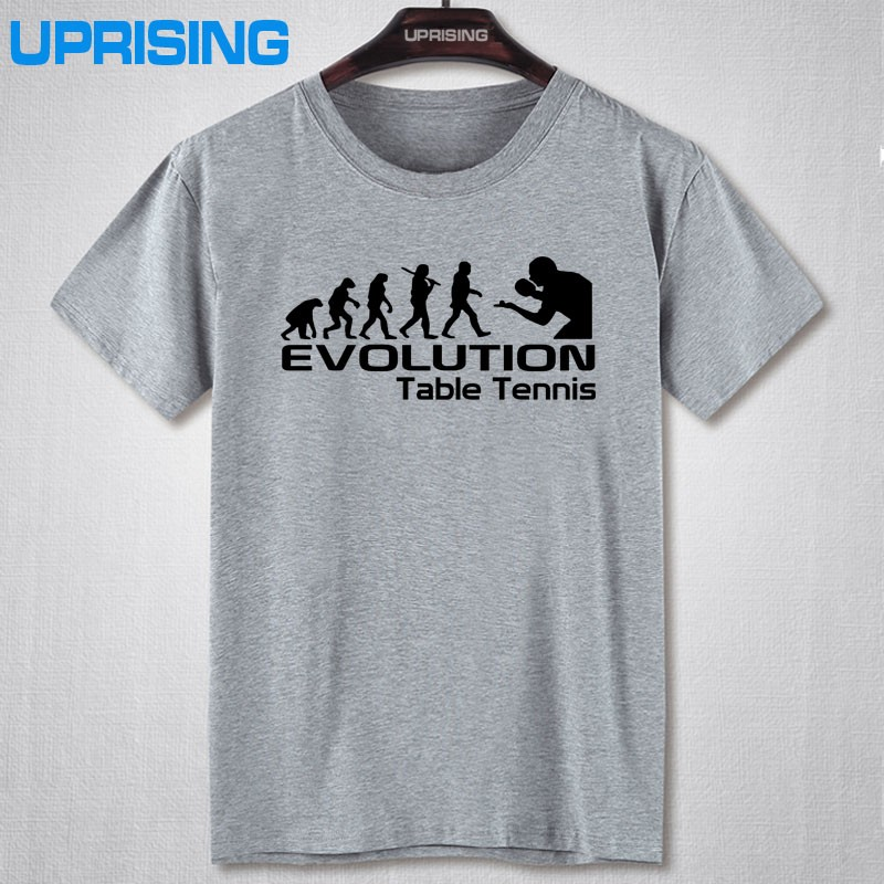Evolution Of Table Funny Adult Mens T Shirt Birthday Gift