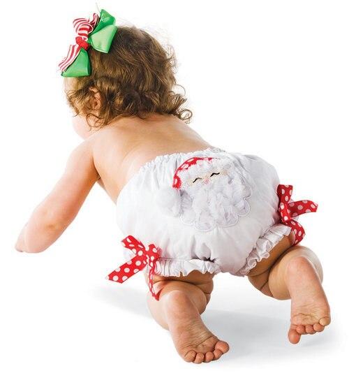 Розничная, много дизайнов на выбор, 3 размера, рождественские детские гофрированные шаровары для девочек, шорты и трусики/штаны с оборками для девочек - Цвет: DK11