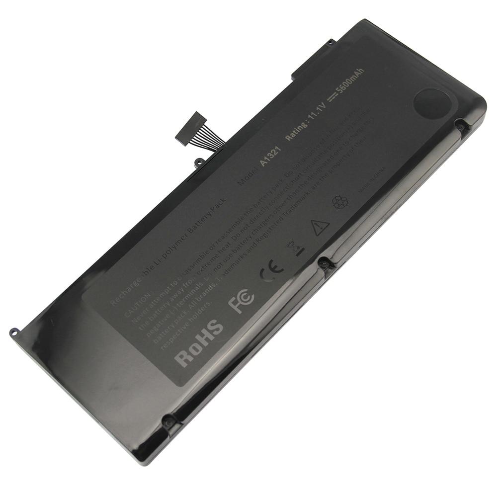 6600 mAh pour Apple batterie d'ordinateur portable MacBook pro unibody 15