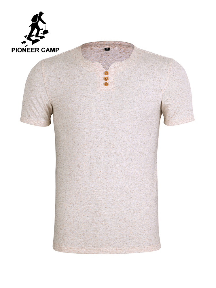 In Quality Pioneer Camp Hip Hop T Shirt Solid Men Chinese Style T-shirts Harajuku Streetwear 2019 Summer Short Sleeve Tops Tees Adt902080 Excellent