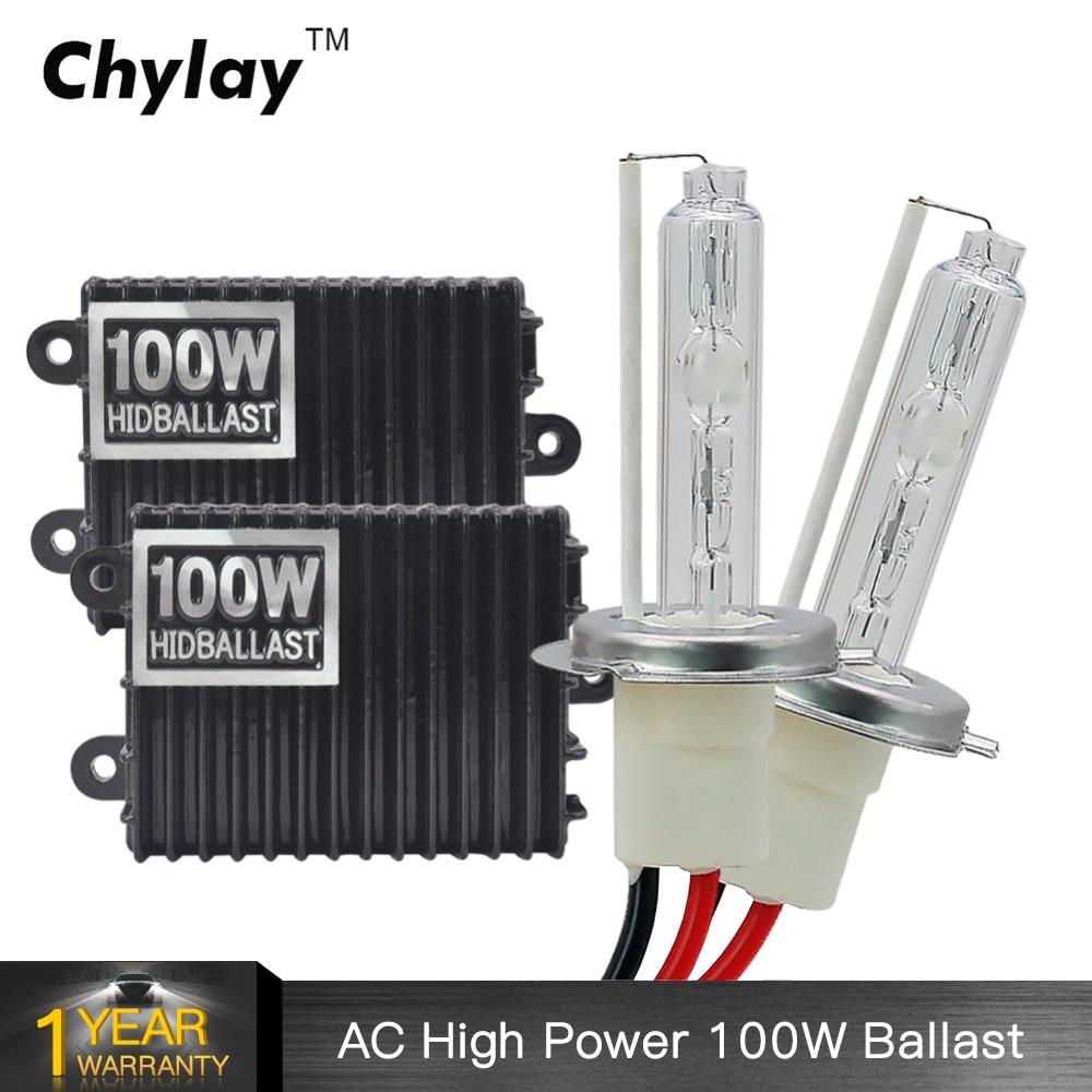 1 set 100 w H7 xenon HID xenon kit H1 H3 H4 H8 H9 H10 H11 9005 HB3 9006 HB4 100 w ballast 5000 k 6000 k 8000 k pour phare de voiture