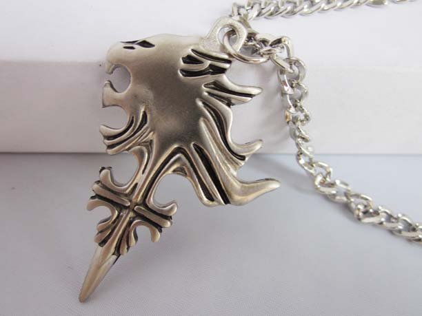Lionheart Pendant Final fantasy lion heart pendant necklace cosplay in pendant final fantasy lion heart pendant necklace cosplay audiocablefo