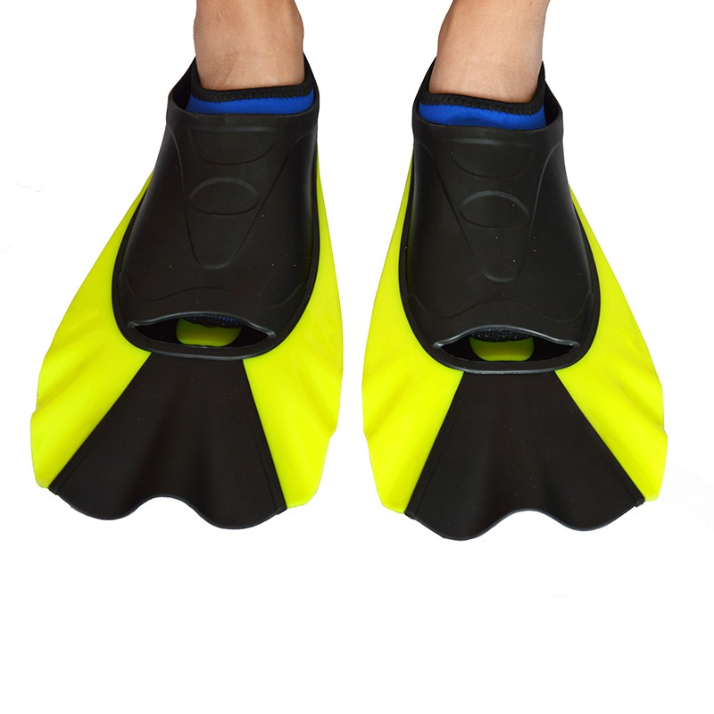 Watersports Short In Fins Flippers Non-slip Antiskid Scuba Dive Boots Wetsuit Neoprene Snorkeling Shoes 3