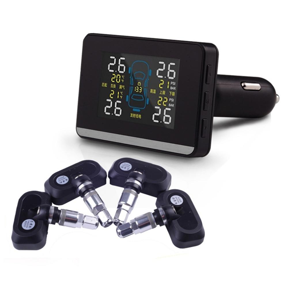 Tirol U903 Car Wireless font b TPMS b font Tire Pressure Monitoring System with LCD Display