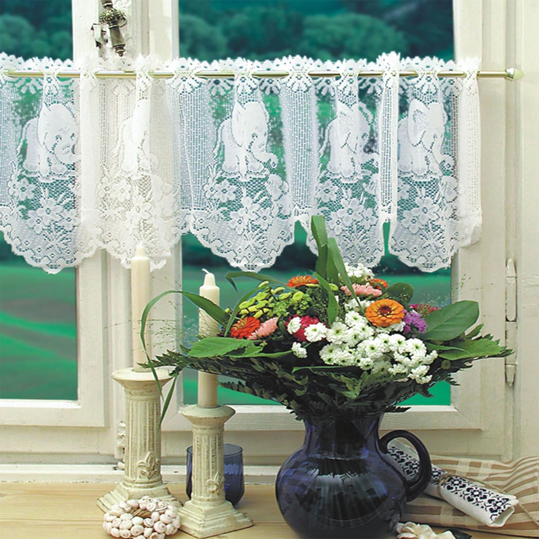 160x30cm Modern Fashion Window Voile Sheer Tulle Valance