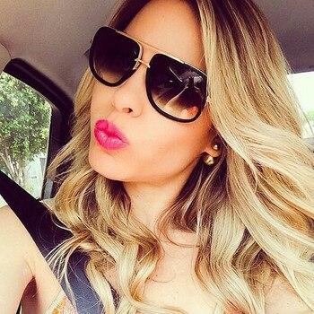 2021 New Square Oversized Sunglasses Women Fashion Sun Glasses Lady Brand Designer Vintage Shades Gafas Oculos de sol UV400 men s sunglasses fashion oversized sunglasses men brand designer goggle sun glasses female style oculos de sol uv400 o2