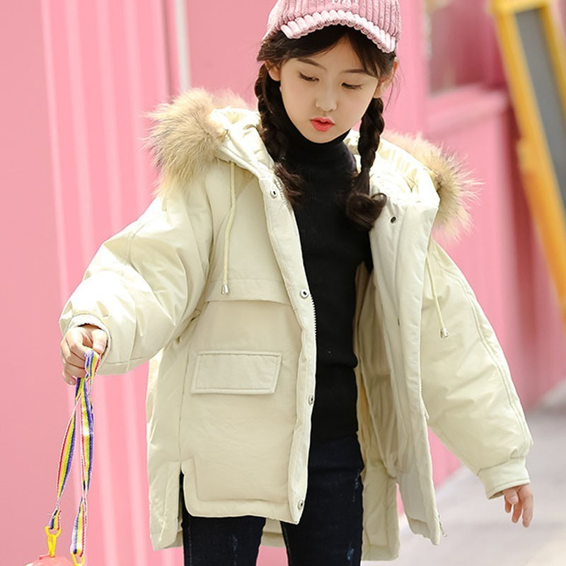 Christmas White Duck Down Big Girls Winter Coat 2018 Boys Kids Snowsuits Toddler Down Jacket Girls Warm White Black Red Clothing baby boys girls down jacket winter jacket 2017 white duck down hooded warm coat toddler solid outerwear for kids boys clothing