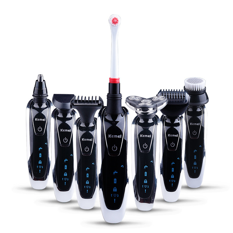 Kemei 7 in 1 Men's 3D Electric Shaver Be