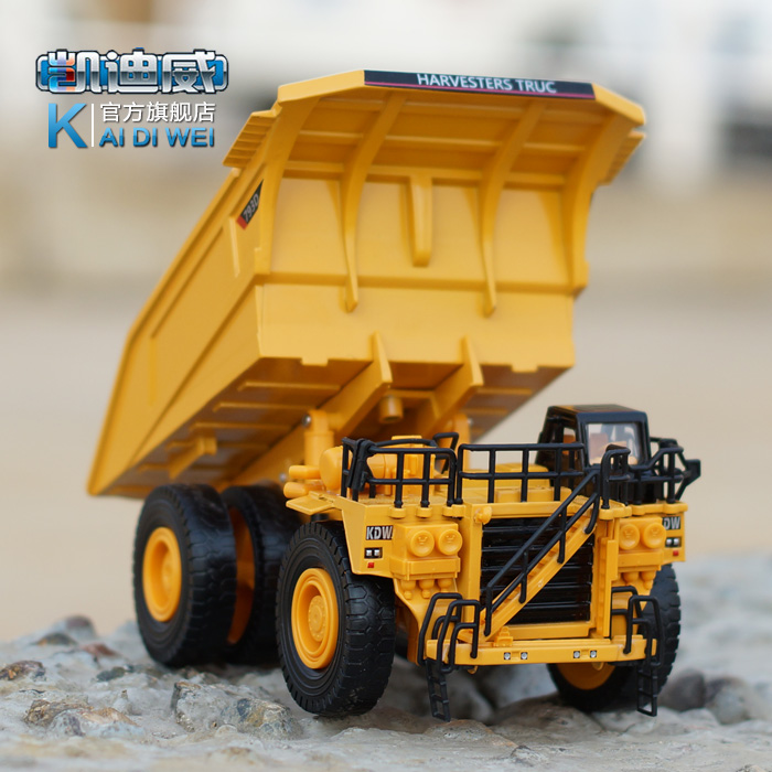 Brand New Very Cool 1/75 Scale Car Toys Off-highway Dump Truck Diecast Metal Car Model Toy For Gift/Children -Free Shipping