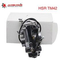 Alconstar mikuni revestimento padrão carburador hsr42 42mm TM42-6 flatslide carb para harley flh flh flst fxb fxdwg xl1200c