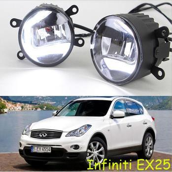 car bumper lamp for headlight Infiniti EX25 EX35 Daytime light LED car accessories daylamp for Infiniti EX25 EX35 fog lamp
