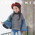 little teenage girls hoodies autumn winter jeans patchwork batwing sleeve 2016 girls sweatshirts long sleeve kids tops clothes