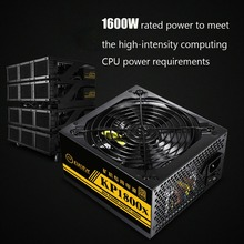 94% Efficiency 1800W 80Plus Modular PC Power Supply 12V 24PIN 8PIN for Miner High quality Computer Power supply For BTC