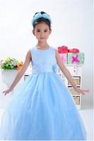 2014 New Arrival High Quality Girls Summer Dresses Girls Tulle Dress Children Christmas Party Dress Wedding