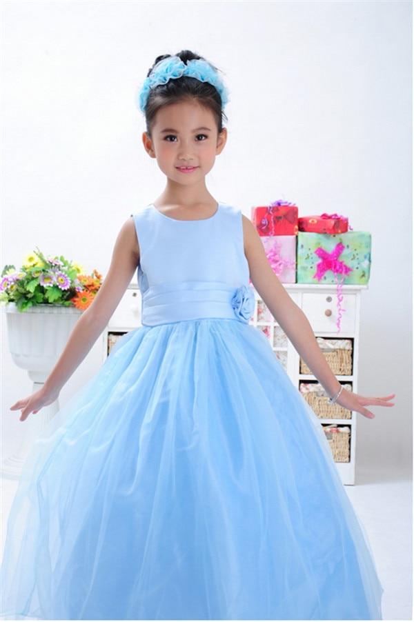 2014 New Arrival High Quality Girls Summer Dresses Girls Tulle Dress Children Christmas Party Dress Wedding Flower Girl Dress
