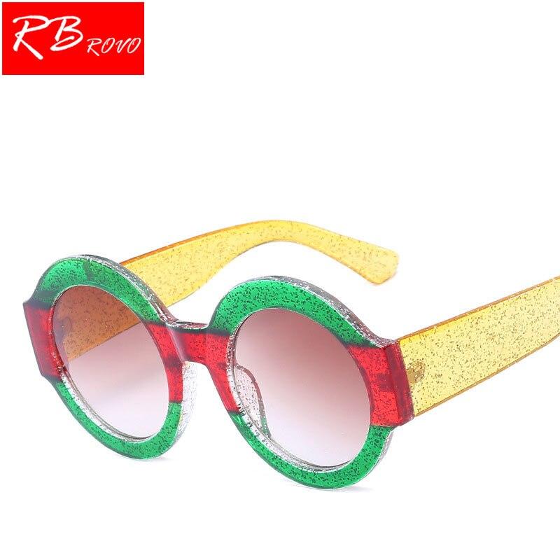 RBROVO 2018 Round Sunglasses Women Designer Luxury Man/Women Sun Glasses Classic Vintage Shopping UV400 Outdoor