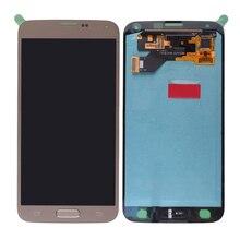 La mejor calidad para samsung galaxy s5 neo g903f g903 pantalla lcd pantalla táctil digitalizador asamblea con el botón adhesivo s5 g903f