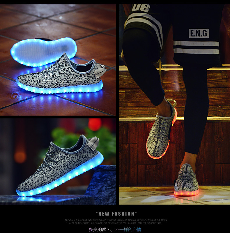 51d41fac8 ... Sneakers Fashion Luminous Lighted Colorful LED lights Children Shoes  Casual Flat Boy girl ShoesUSD 17.88-22.88 pair. aeProduct.getSubject()