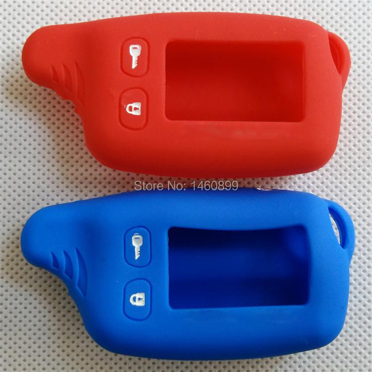 TW9010 Silicone Key Case with LOGO for Tomahawk TW-9010/TW9030/9020 Remote,TW-9020/TW-9030,TW 9010 9020 9030 Key Fob Chain