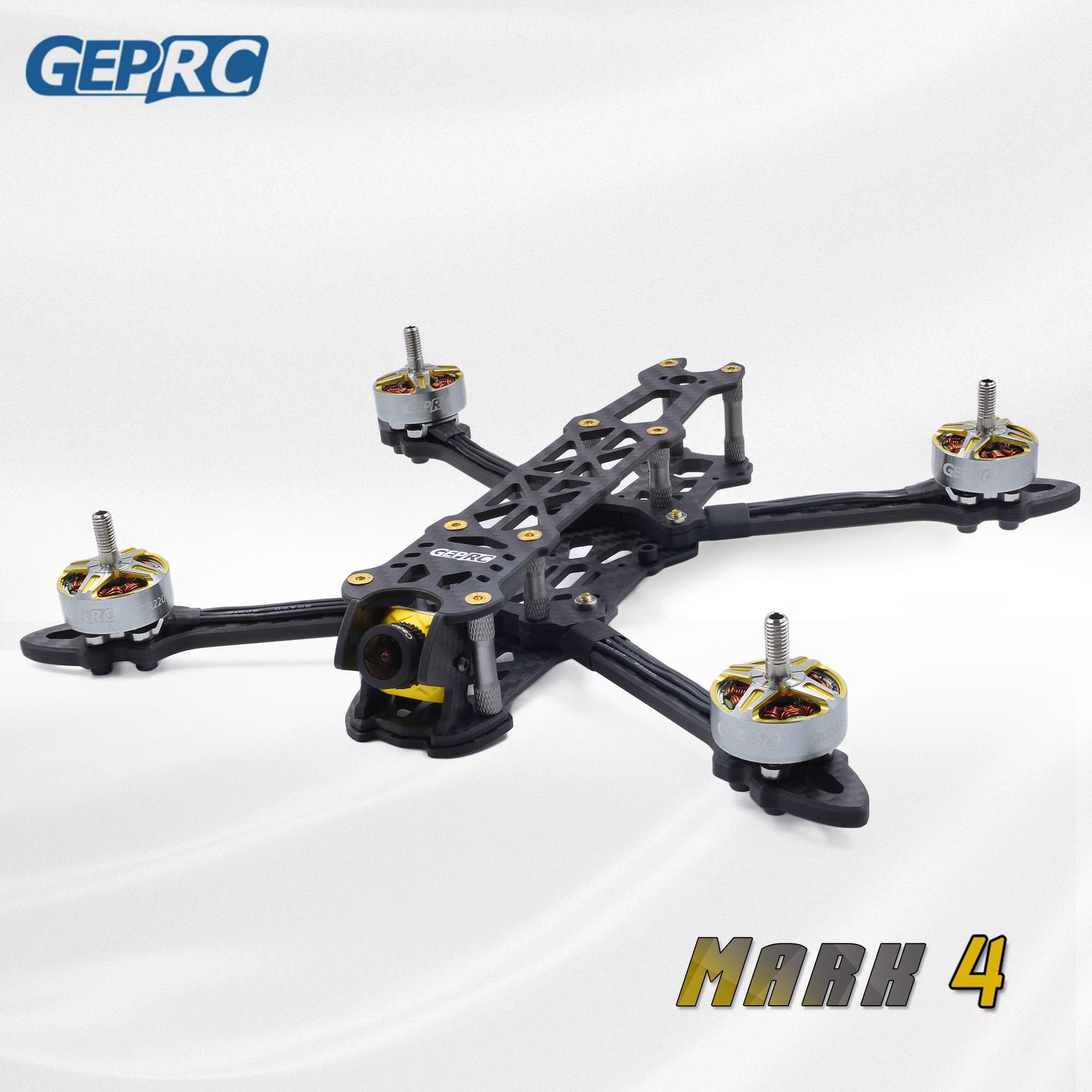 """Gerpc Mark4 marque 225mm 260mm 295mm FPV cadre de Drone de course Freestyle X quadrirotor 5mm bras GEP 5 """"6"""" 7 """"drone RC"""